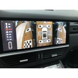 Система кругового обзора для Porsche Cayenne