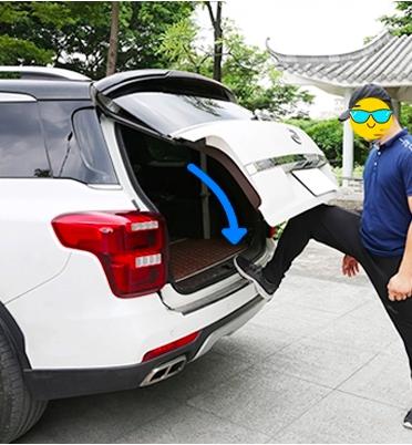 анти защимление при открытии электронной крышки багажника