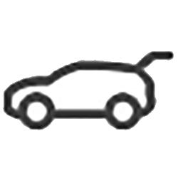оригинальная кнопка открытия на крышке багажника